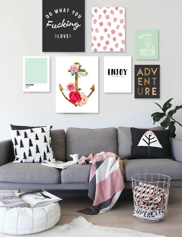 Cuadros modernos decorativos para el living de tu casa for Adornos modernos para living