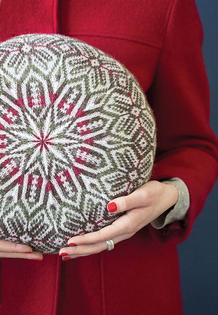 Ravelry: #08 Fair Isle Round Pillow pattern by Hazel Tindall ...