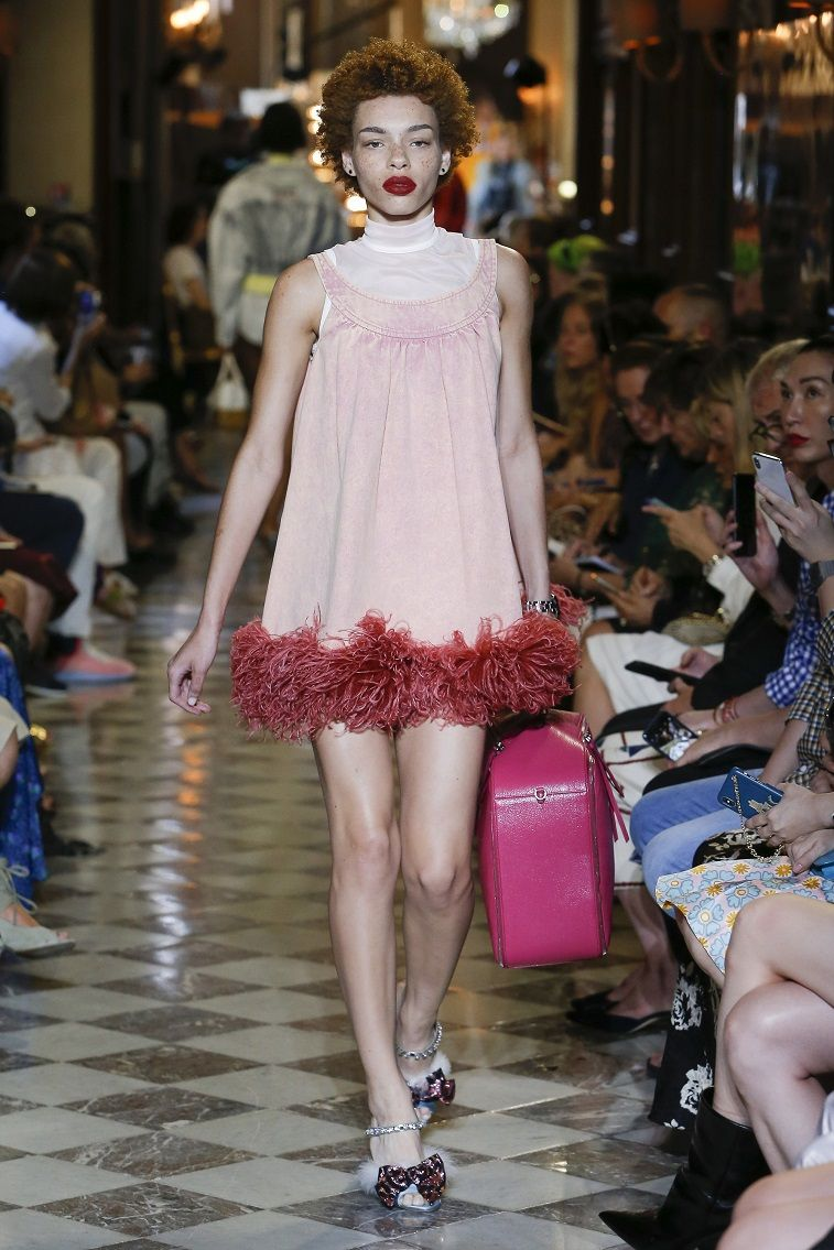 Miu Miu Resort 2019 Ready to wear - Fashion on Trends, what to wear ,summer wear #fashion #womenwear #miumiu #runway