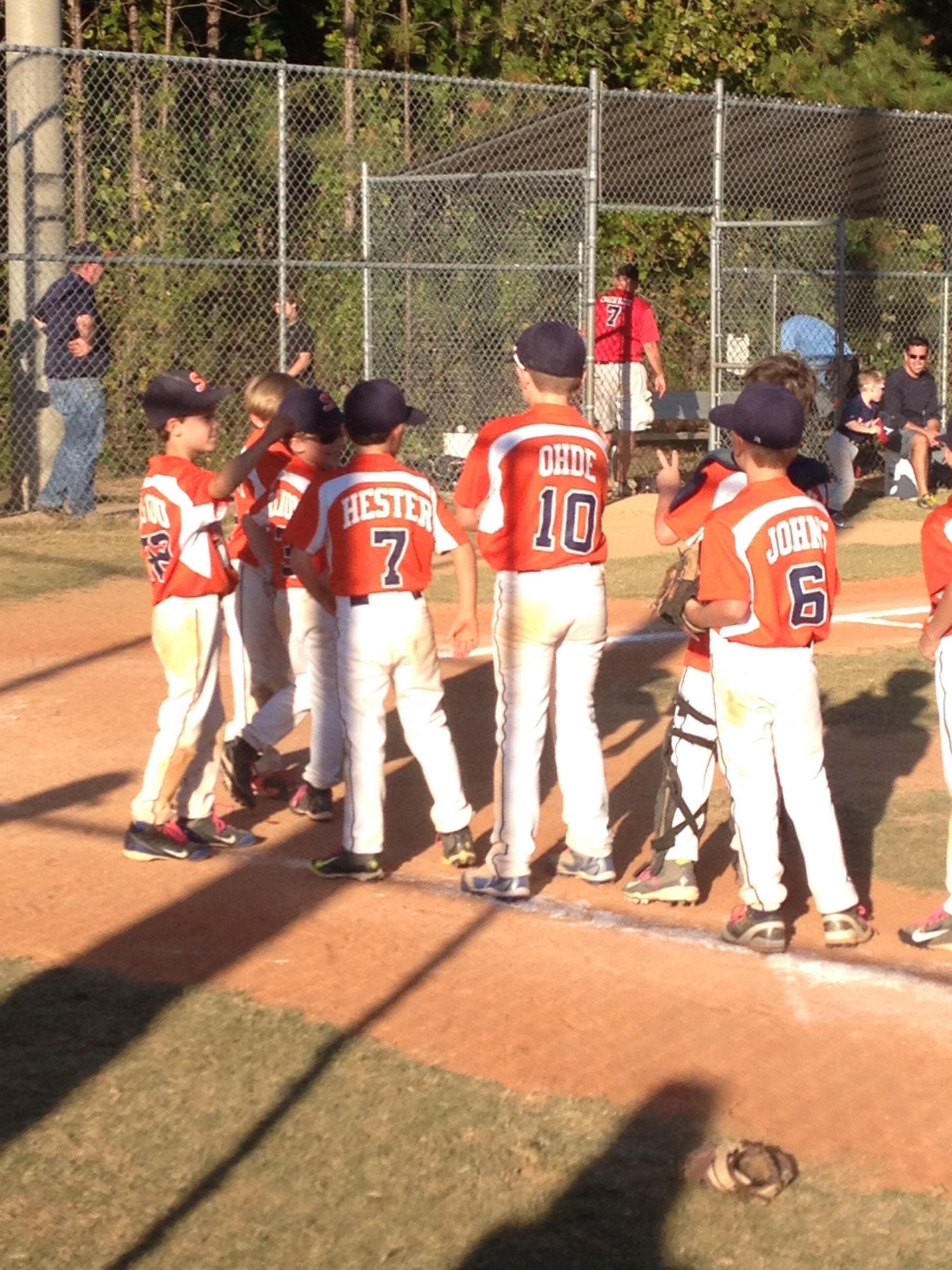 Gabriel & team won their 1st 7&8 year olds baseball tournament!