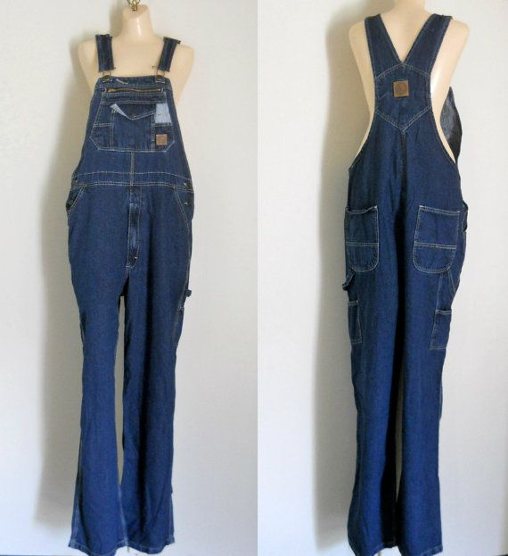 Plus Size Overalls XL overalls Women Denim by TheVilleVintage, $84.99
