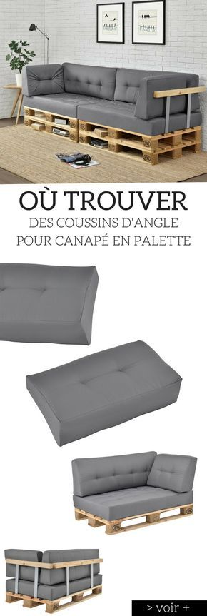 Coussin Palette Guide D Achat 2020 Bons Plans Fabriquer Un Canape Canape Palette Et Coussin Pour Palette
