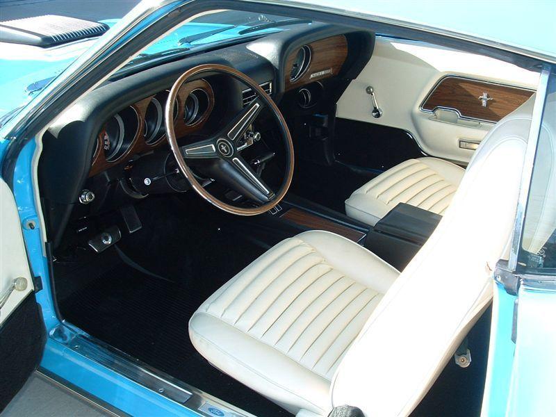 Grabber Blue 1970 Mach 1 Mustang Fastback Mustang Mach 1 Mustang Fastback
