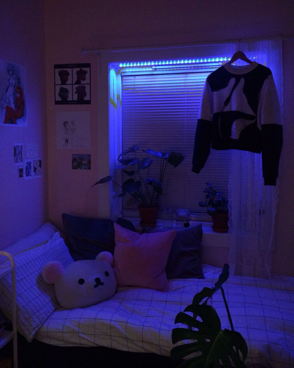 Madisonaloise Chambre Neon Deco Grenier Et Idee Deco Chambre