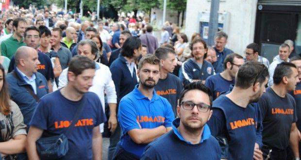 Liomatic licenzia dipendenti di San Giustino senza crisi