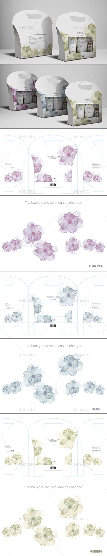 Beauty Box Packaging - Packaging Print Templates | Sisa-logo | Pinterest