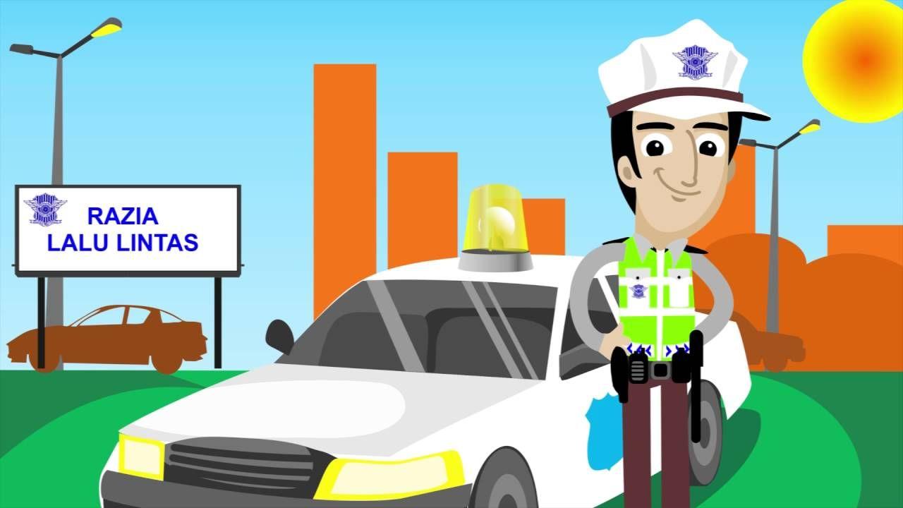 Razia Polisi Lalu Lintas Yang Benar Orang Kendaraan