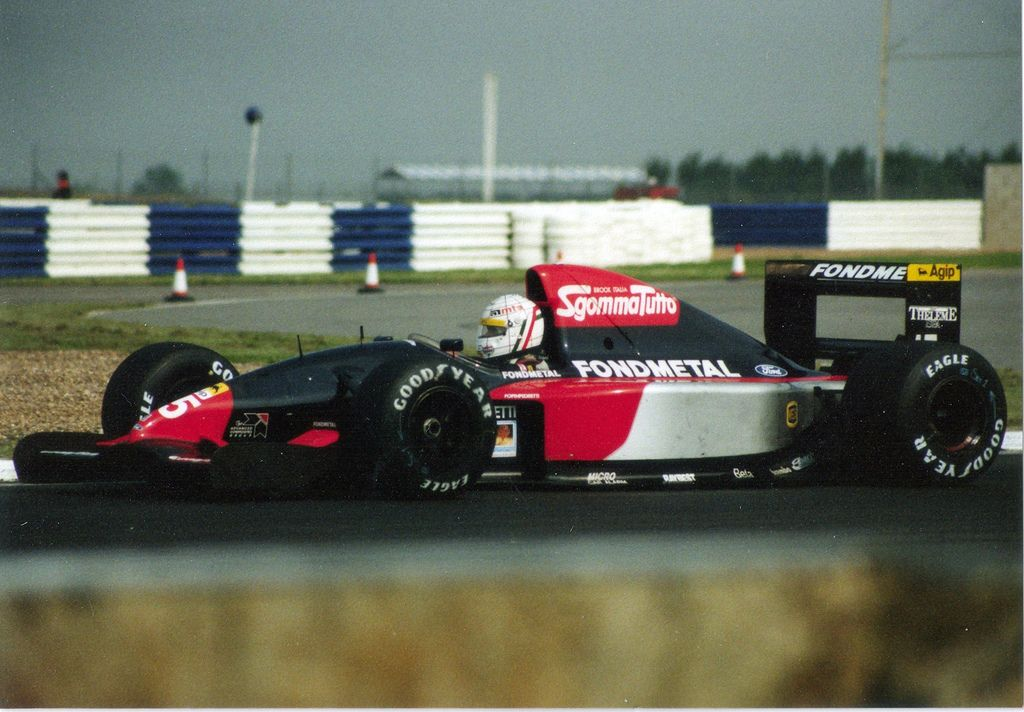 Image result for 1992 fondmetal gr02