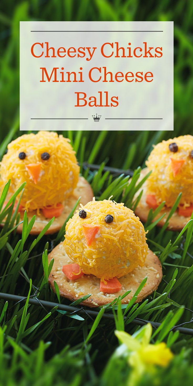 Cheesy chicks mini cheese balls