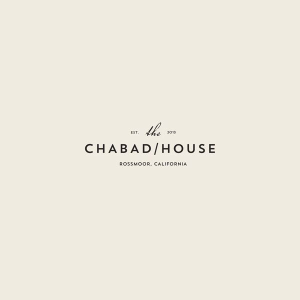 The Chabad House Design Typography Pinterest Logo Design
