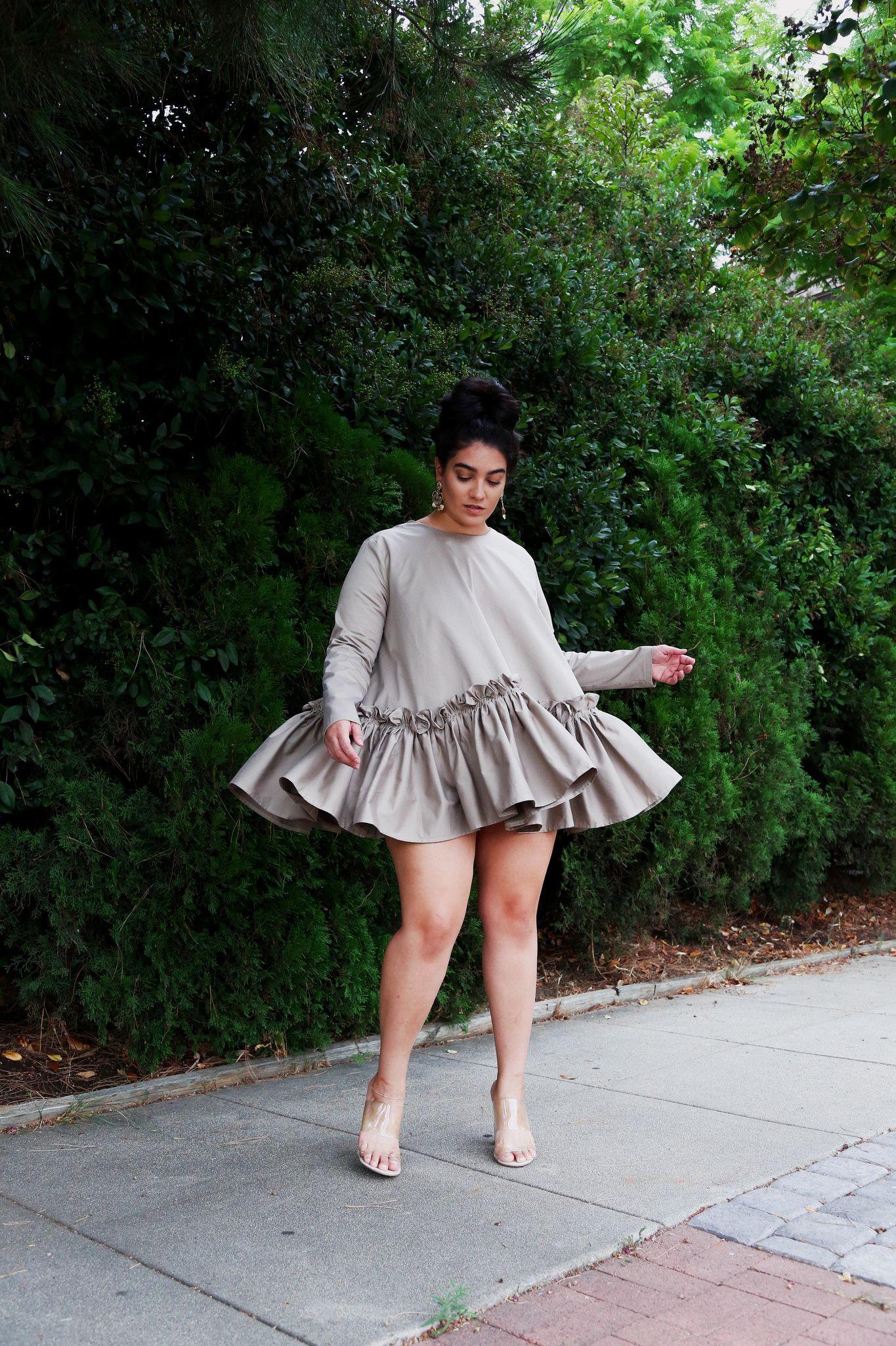efd8ecf9590 nadia aboulhosn dress cream in 2019