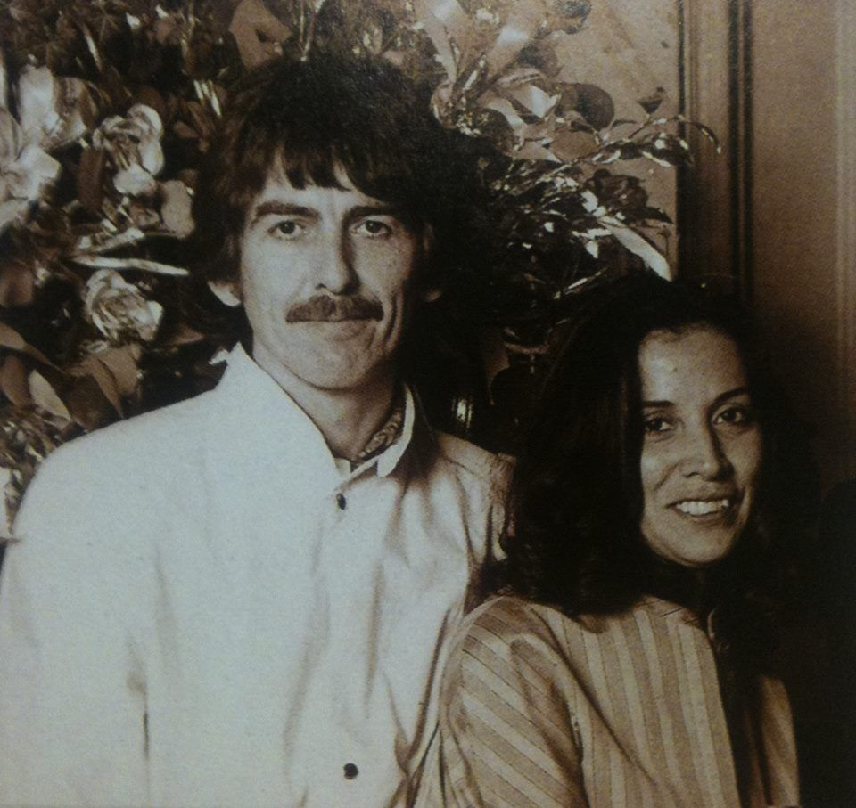George Harrison And Olivia Arias At Richard Starkey Barbara Bach Starkeys Wedding