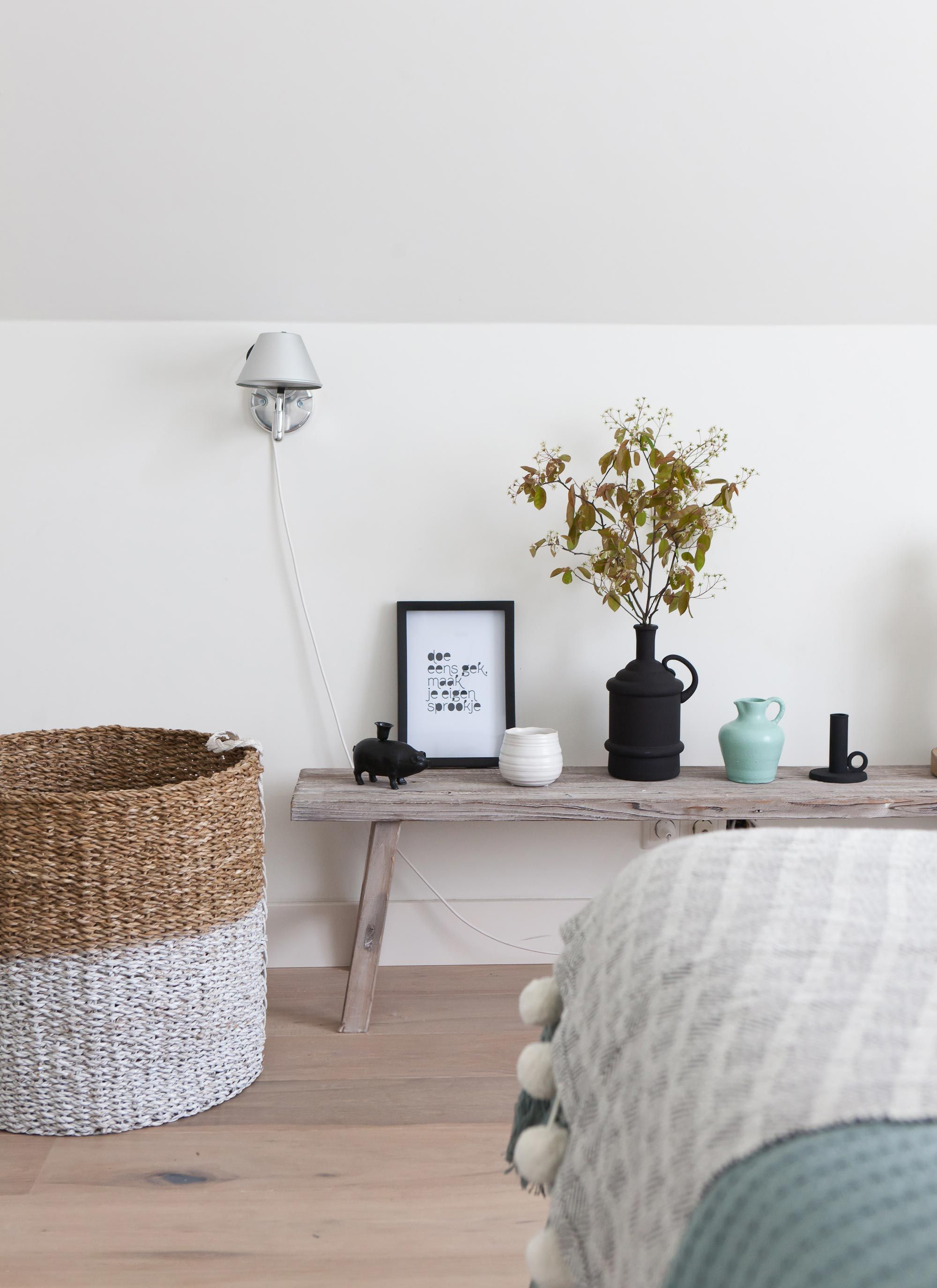 noretnic inspiration for the bedroom Houten bank