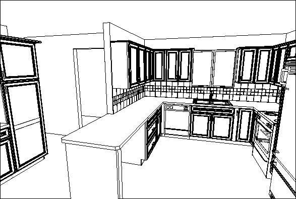 what do you think of the new plan for this kitchen?
