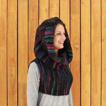 me1 - patron punto chaleco/cuello/capucha | Crochet~♡ | Pinterest ...