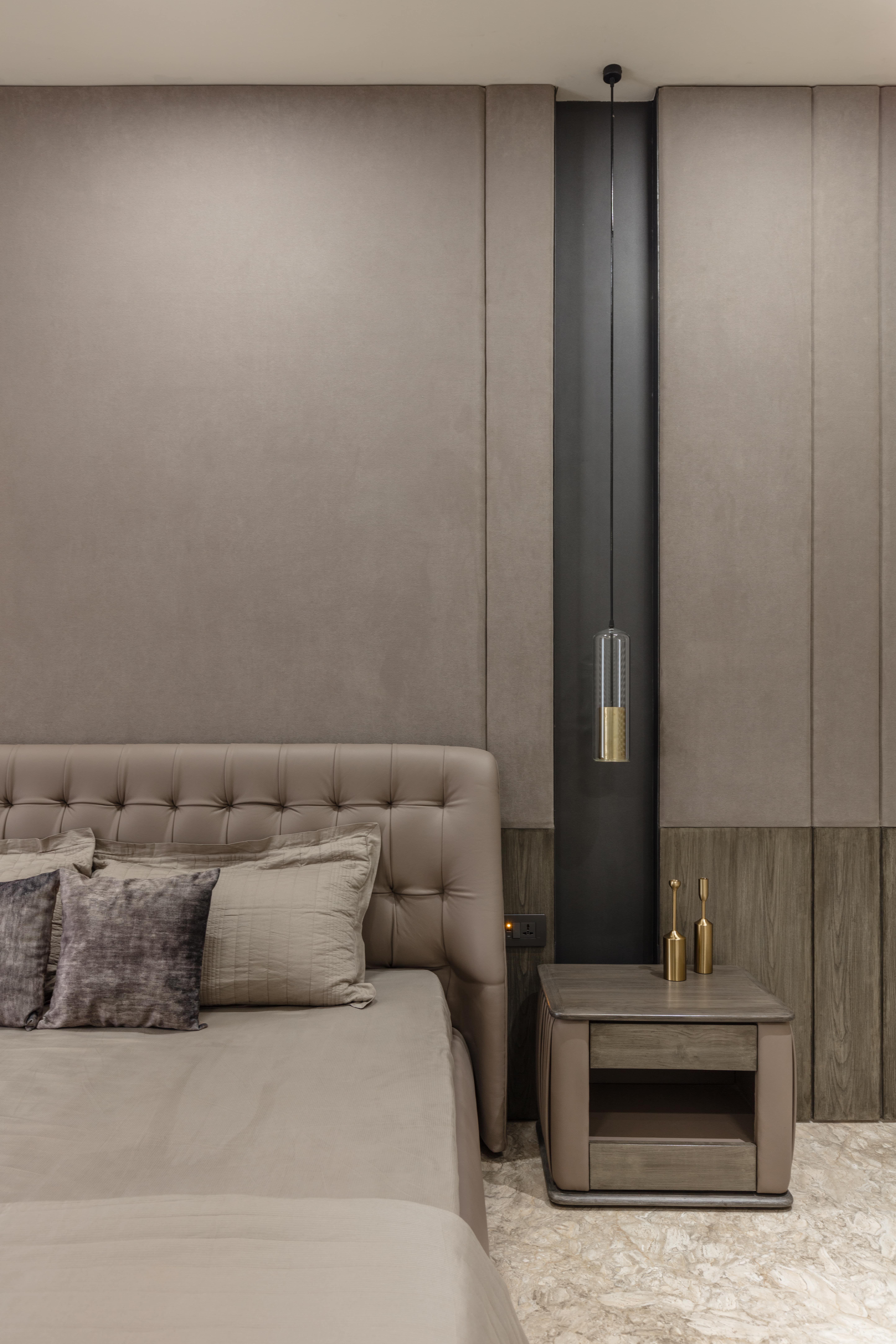 #bedroom #monochrome #neutrals #apartmentdesign #designerscircle #luxuryinteriors #ahmedabad #interiordesign