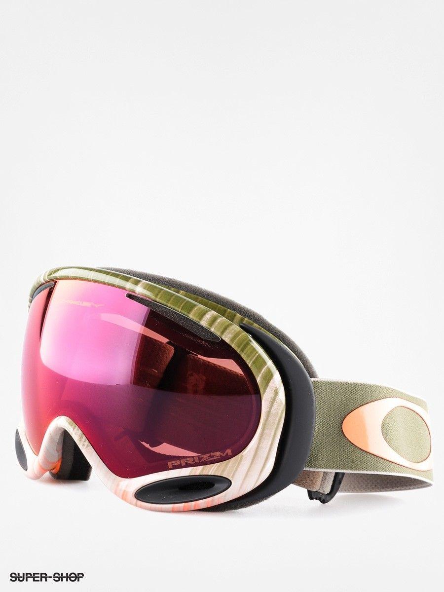 Oakley Goggle A Frame 2 0 Wet Dry Olive Orange W Prizm Torch Snowboard Skateboard Converse