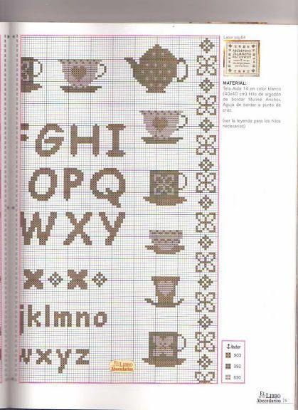Gallery.ru / Фото #21 - libro del abc - geminiana