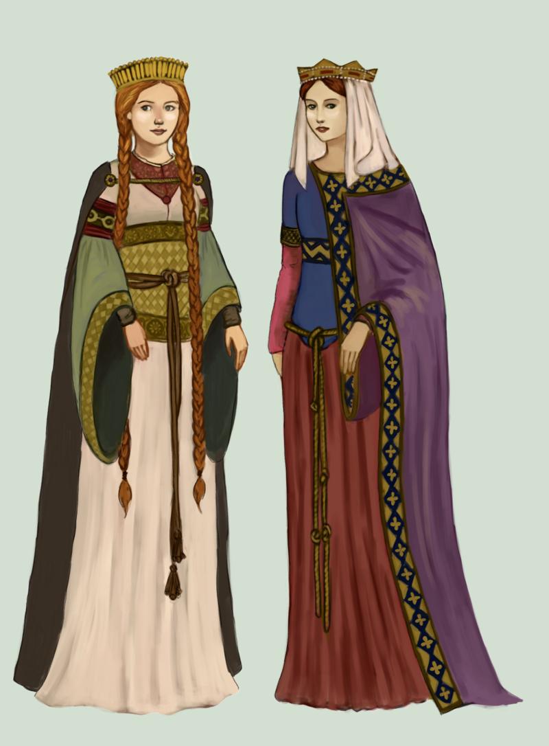 быть одежда романский период картинки они пошли