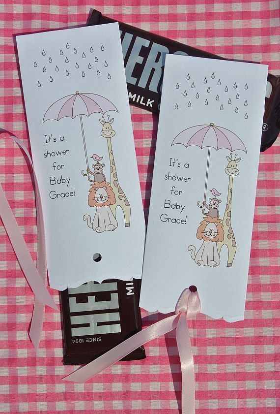 Baby Shower Favors Baby Shower Candy Bar by abbey and izzie designs