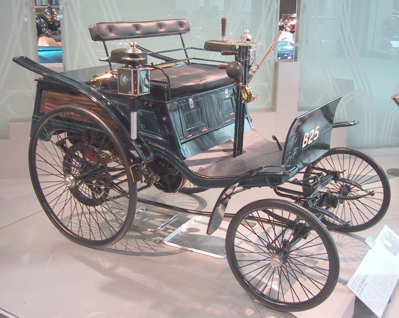 1894 Benz Velo Karl Benz introduced the Velo and it became the first ...