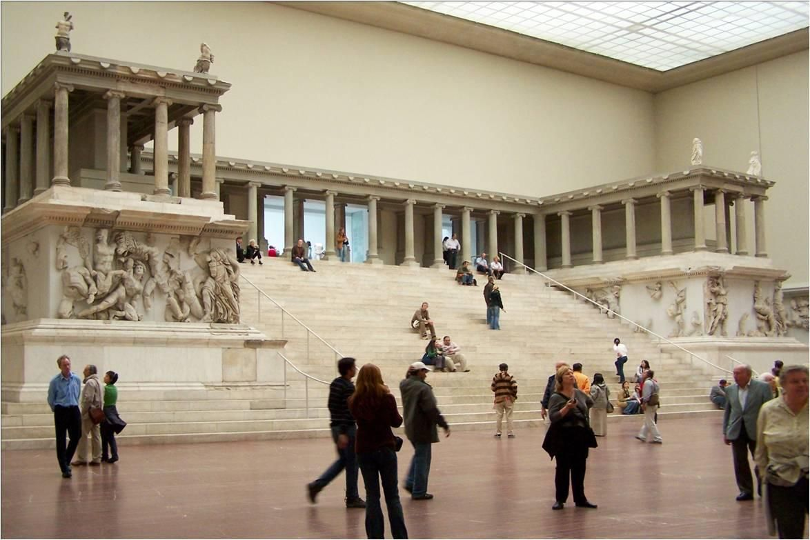 38 Great Altar Of Zeus And Athena At Pergamon Asia Minor Present Day Turkey Hellenistic Greek C 175 B C Pergamon Museum Pergamon Museum Berlin Pergamon
