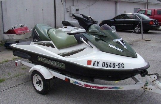 2002 SeaDoo GTX-DI jet ski, 2 seater, needs motor  For sale