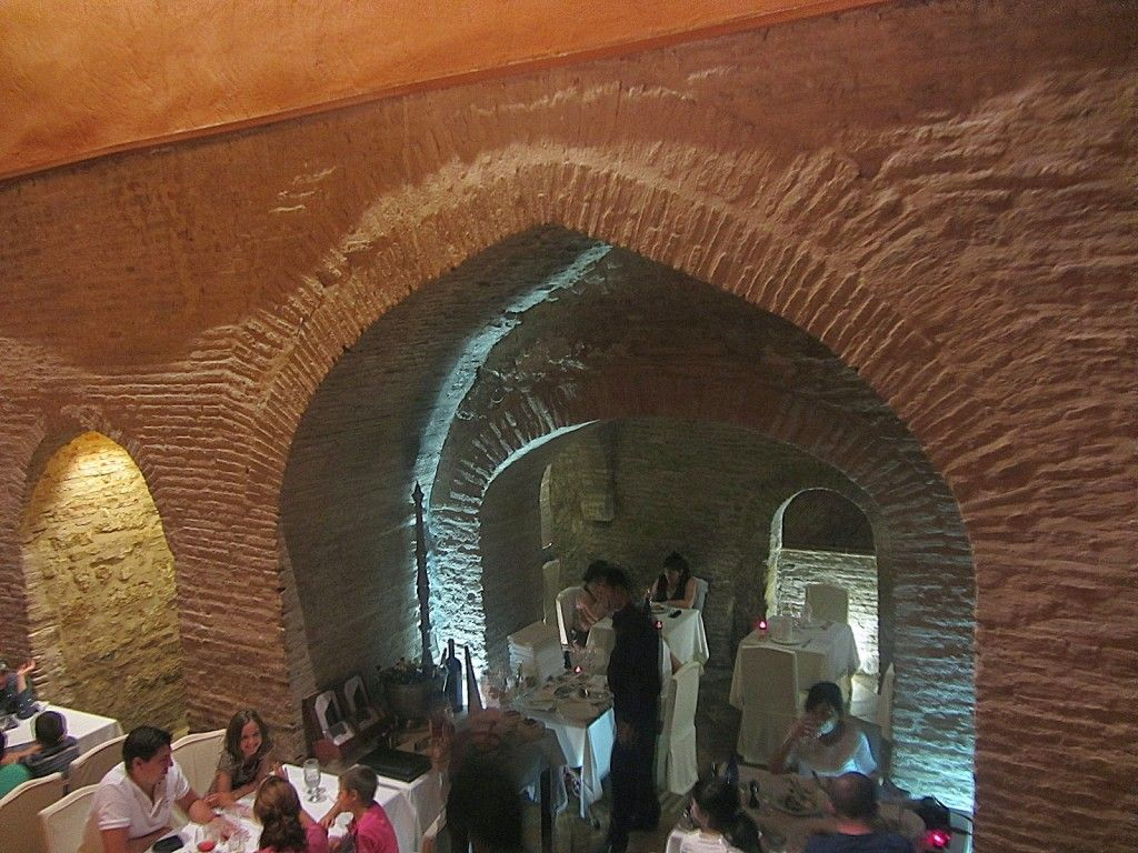 De ba os rabes a restaurante sevilla secretosdesevilla sevilla pinterest seville and - Banos arabes de sevilla ...