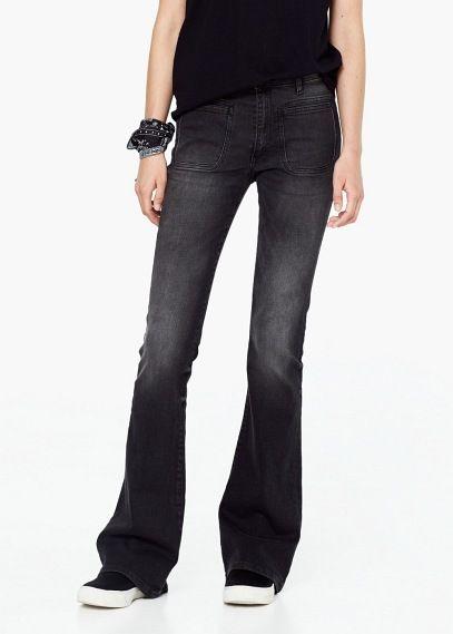 Jeans scampanati newflare   MANGO