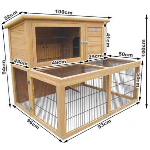 Guinea pig hutch dimensions garden ideas pinterest for Outdoor guinea pig hutch
