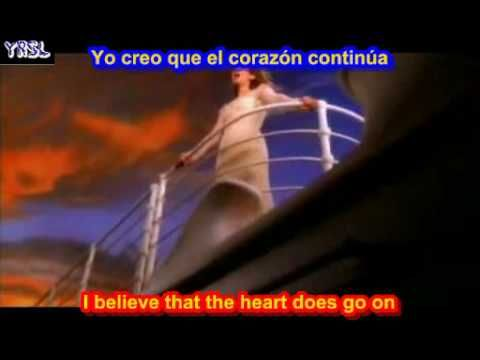 My heart will go on - Titanic - Celine Dion (SUBTITULADO INGLES ...