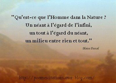 Blaise Pascal Poeme Et Citation Citations Sympa Et Citation Pensee