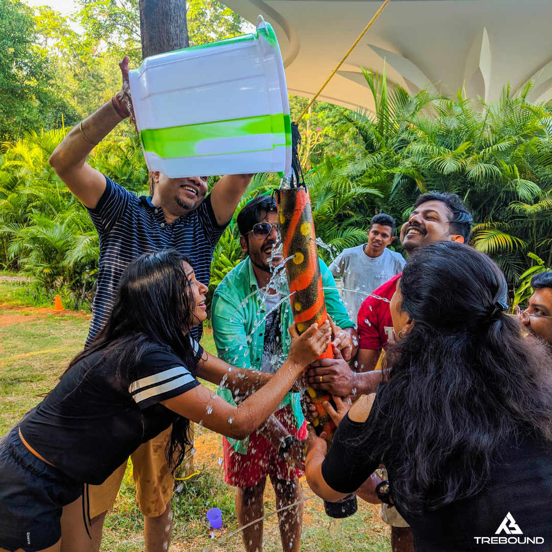 Team Building events always promote positive vibrations that often results in most efficient teamwork leading to innovative and brand new business outputs. ...  #teamexperiences #trebound #teambuilding #teamwork #inspiration #leadershipdevelopment #leadership #mentoring #business #inspiraton #motivation #sales #hr #marketing