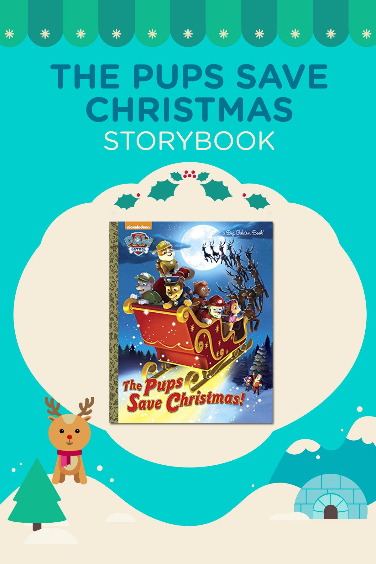 Pups Save Christmas Book.Snuggle Up With Your Little One And Read This Paw Patrol The