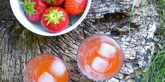 lemon, she said: Drinks | Limonade med friske jordbær