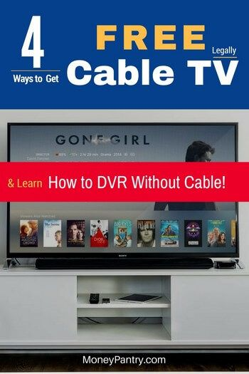 4 Ways To Get Free Basic Cable Tv Legally Some Premium Channels Moneypantry Cable Tv Cable Tv Alternatives Free Tv Channels