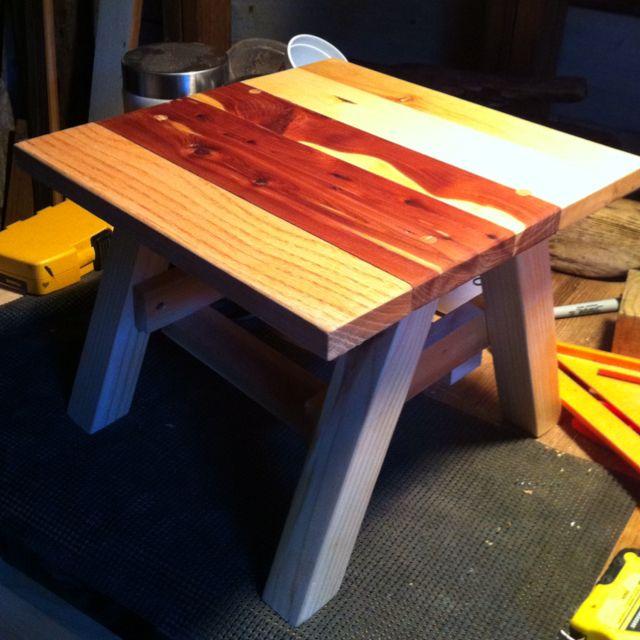 Reclaimed wood Gardening stool G Gallery OKC - Reclaimed Wood Gardening Stool G Gallery OKC Wood Design