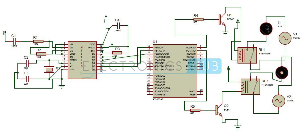 Dtmf Based Home Automation System Using Microcontroller Home