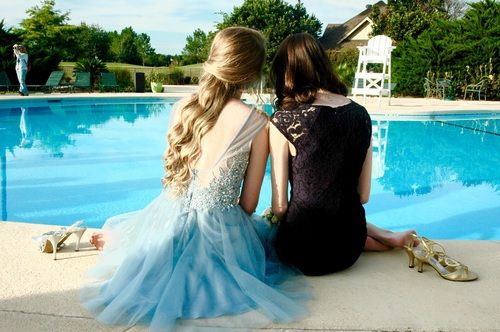 prom and friends