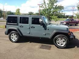 Jeep Anvil Color