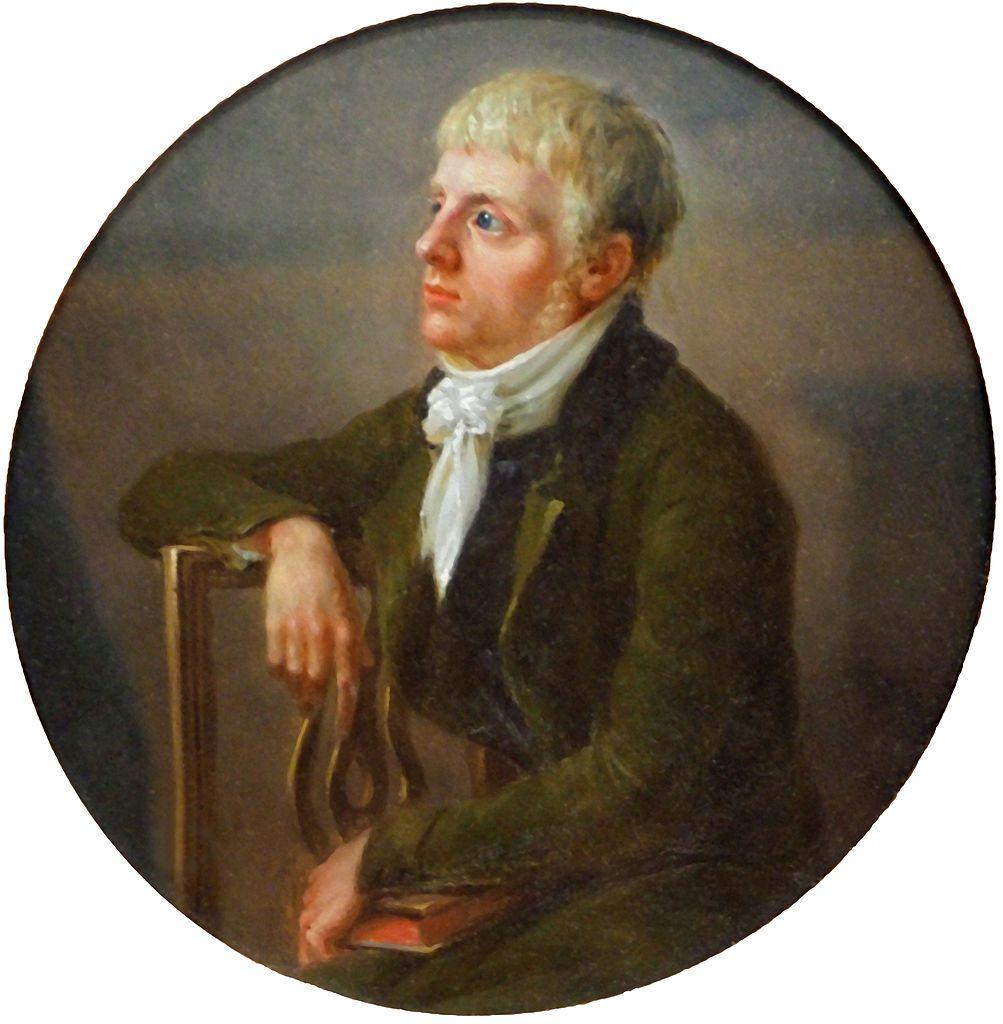 Der junge Caspar David Friedrich von J. L. Lund (1800)