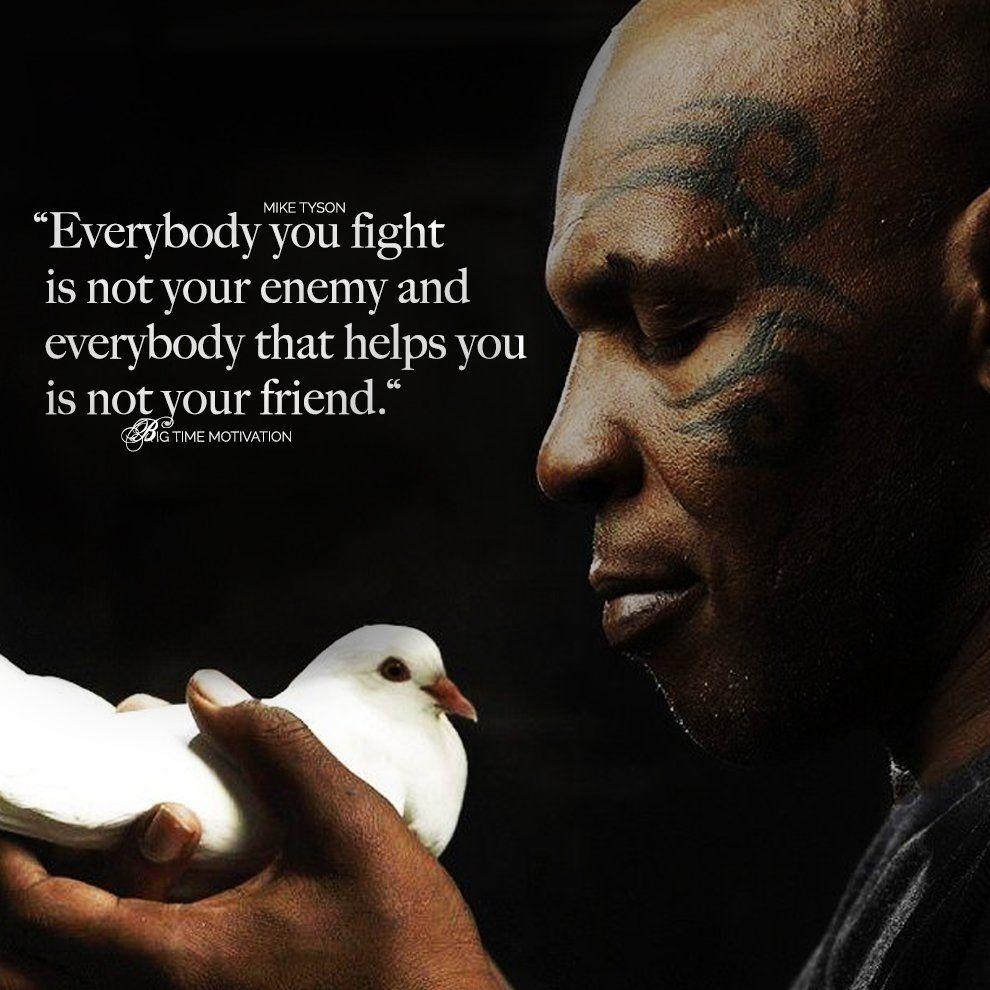 boksz idézetek everybody You Fight is Not Your Enemy