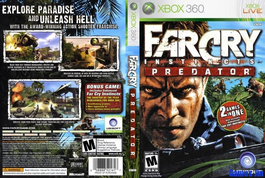 Far Cry Instincts Predator Pc Game Free Download Far Cry Instincts Predator Game Full Version Free Setup For Pc And Android Xbox 360 Games Xbox Xbox 360