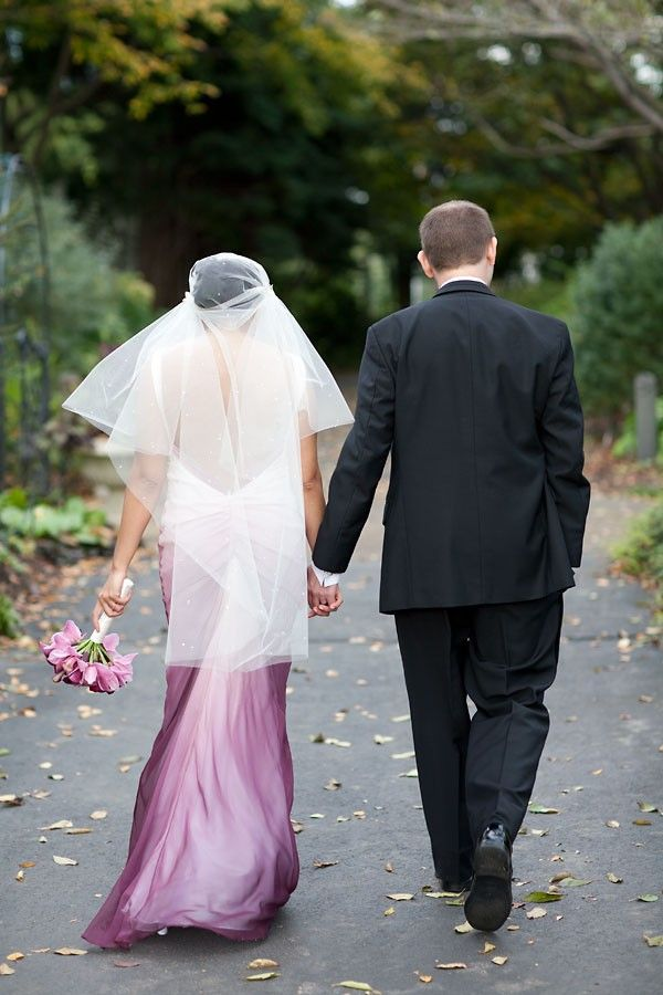 2014 Purple Ombre Wedding Dress, Rock & Roll Northern Virginia ...