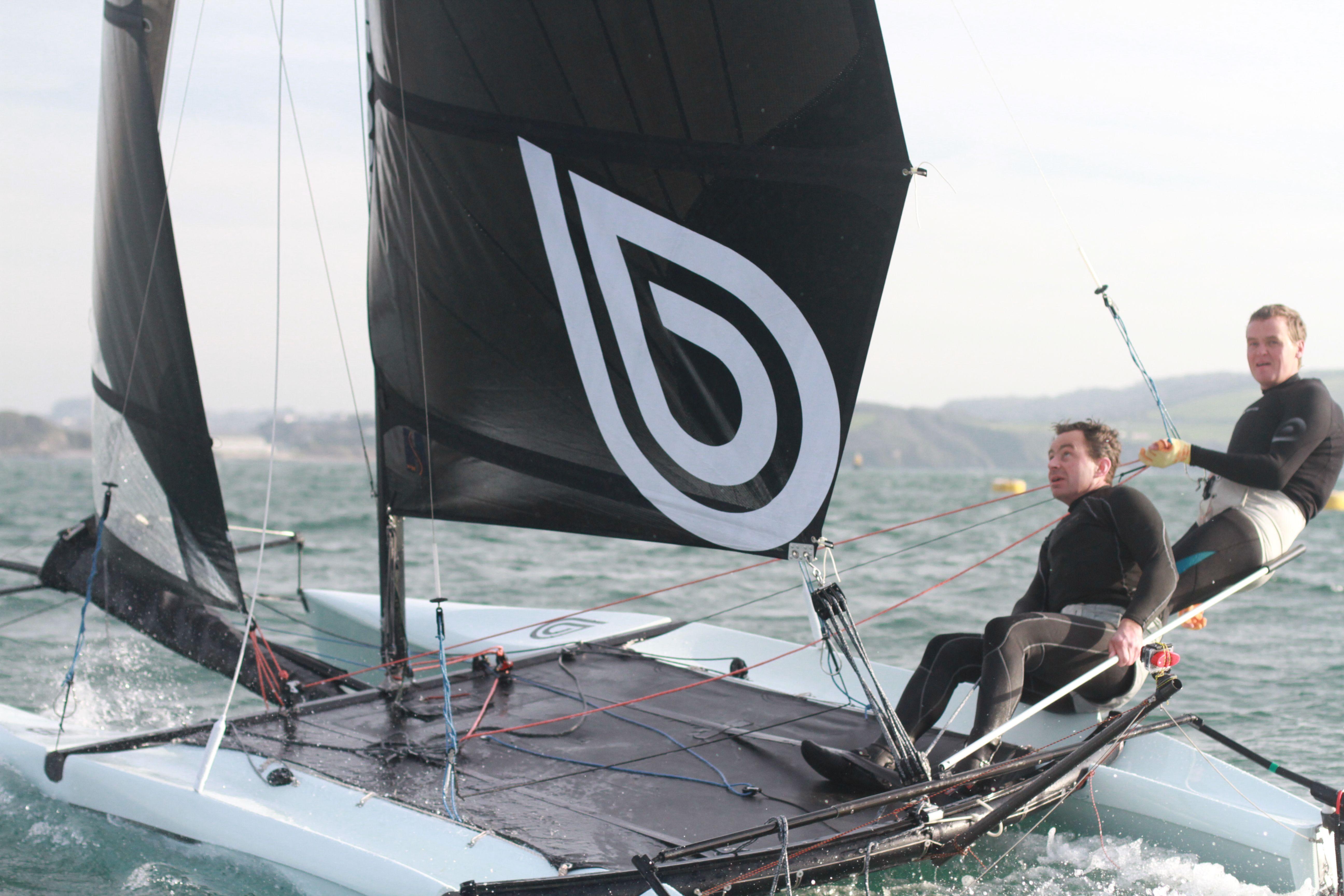 Watercooled XC5 double-hander beach catamaran | beach catamaran