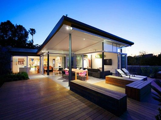 Modern penthouse design terrace i love my dream home for Bungalow house design with terrace