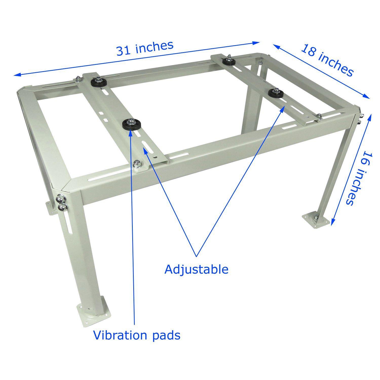 Mini Split Table Ductless Heat Pump Support Condenser