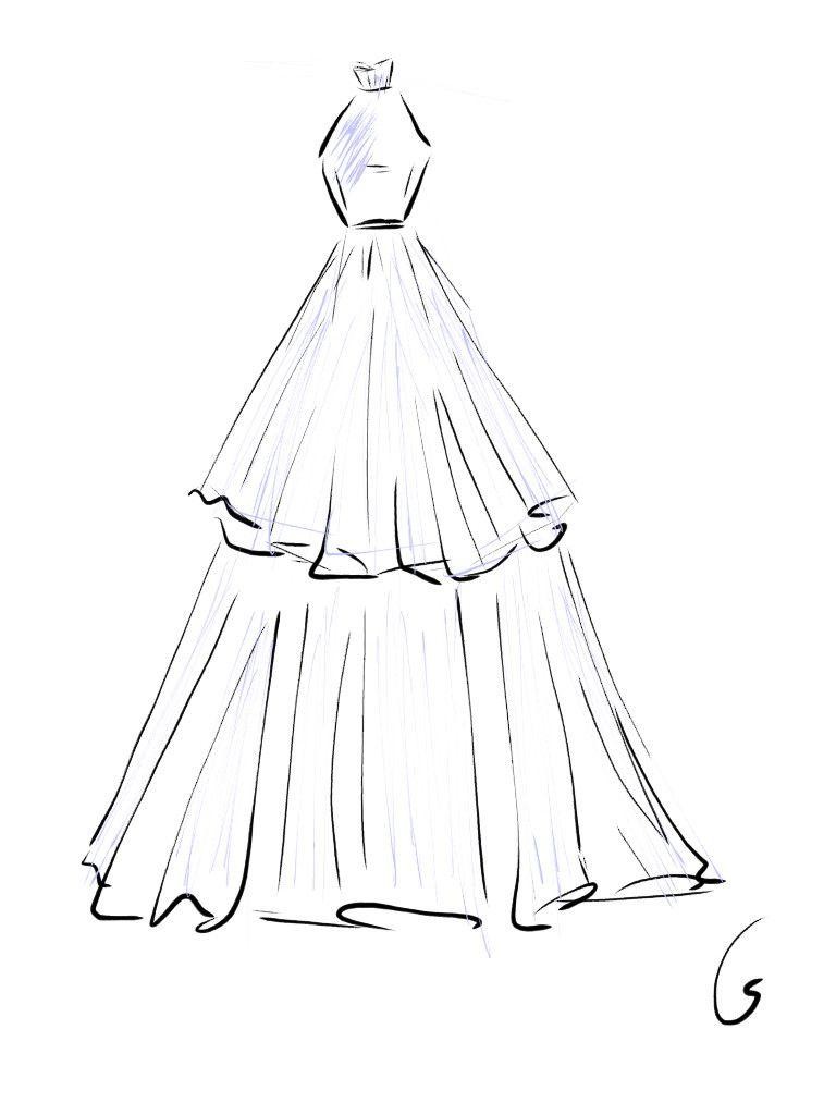 Dress Drawing Moda Karalamalari Moda Tasarimcilari Moda Cizimleri