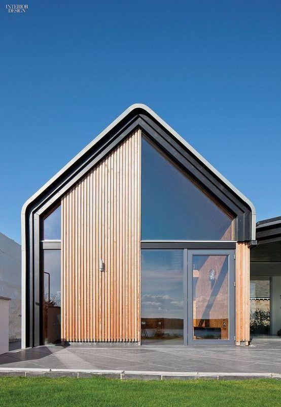 Galleria foto ampie vetrate foto 11 nel 2019 design for Casa moderna vetrate