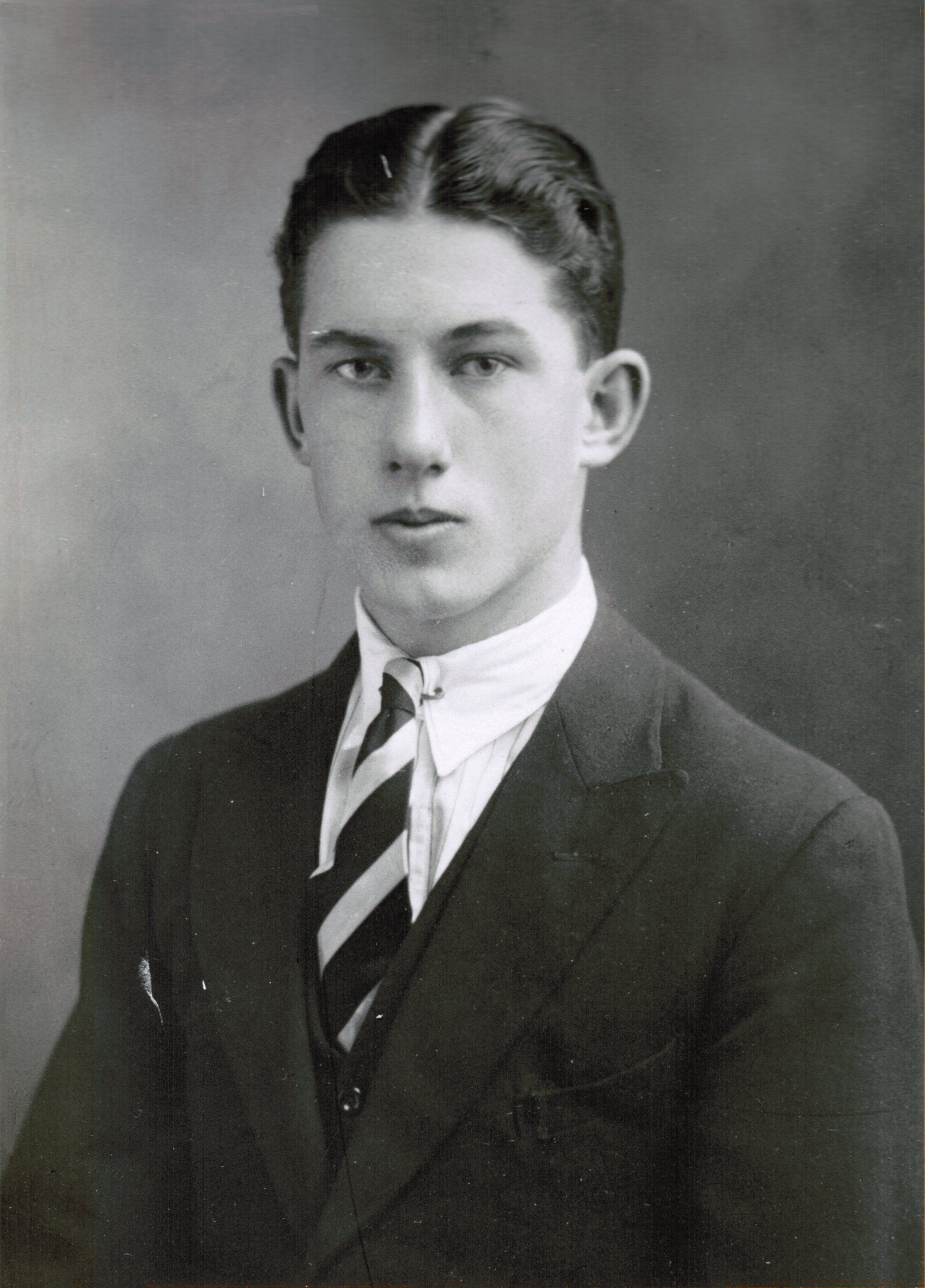 A young Ronald Straker before he joined the Royal Marines in the Second World War He returned to manage what was left of the stationery shops in London. www.wstraker.co.uk